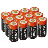 12pcs RCR123a 700mAh 16340 rechargeable battery for Arlo HD Camera and Reolink argus 3.7V cr123a rechargeable