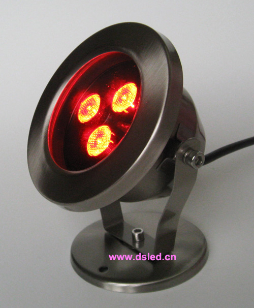 Stainless steel good qualityhigh power 3W outdoor LED spotlightLED outdoor lightIP6812V DCDS-10-41B-3W3X1W.