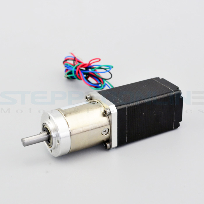 27:1 Nema 11 Planetary Geared stepper motor gear ratio 27:1 Planetary Gearbox stepper motor 11HS20-0674S-PG27 nema23 geared stepping motor ratio 50 1 planetary gear stepper motor l76mm 3a 1 8nm 4leads for cnc router