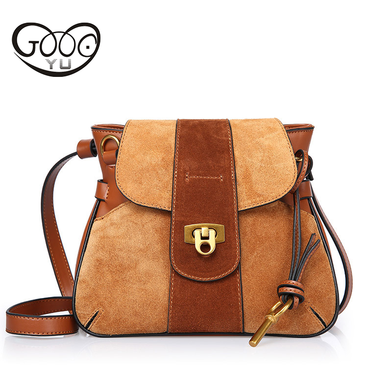 Genuine Leather Bag Mini Women Crossbody bags Small Lock Grind Arenaceous Women Bag Messenger Shoulder Sling Purse Lady Handbag mini women crossbody bags small women