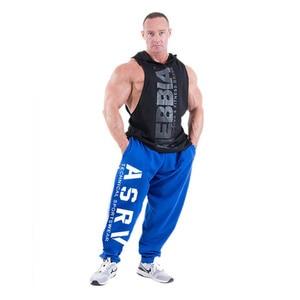 Image 4 - Mens Joggers Casual Pants Fitness Men Sportswear Tracksuit Bottoms Skinny Sweatpants Trousers Black  Jogger Track Pants