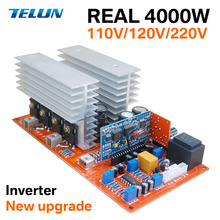 Tepe 7000W Gerçek 1000W 2000W 3500W DC 12 V/24 V/48 V AC 220V saf sinüs inverter kurulu/frekans invertör panosu Yedek Güç