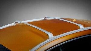 Image 5 - 닛산 Murano 2015 2020, 항공 알루미늄 합금을위한 OE 작풍 지붕 선반 수화물 선반 크로스 바, 큰 공장에서 승진 가격