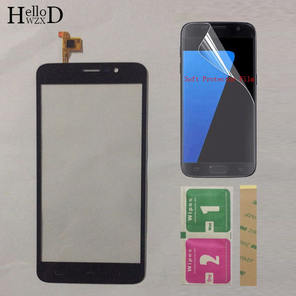 5.5'' Mobile Touchscreen Touch Panel Screen For <font><b>HOMTOM</b></font> HT27 <font><b>HT</b></font> <font><b>27</b></font> Touch Screen Digitizer Front Outer Glass Sensor Protector Film image