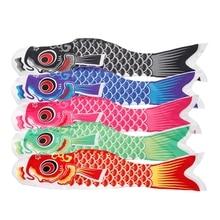 70 см Koi Nobori Карп ветер носки Koinobori красочные рыбы флаг Подвесной Настенный декор