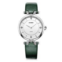CASIMA люксовый бренд часы женщины 2016 горячие моды elegent платье женщин браслет кварцевые наручные часы водонепроницаемый