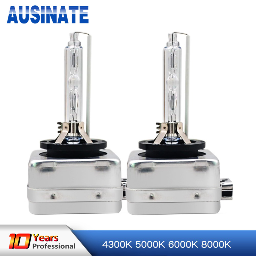 One Pair D1C D1S Xenon Bulb 4300K 5000K 6000K 8000K 35W Xenon Lamp For Car Auto HID Bulb Xenon D1S Car Light 2pcs 12v 35w xenon d1s d1c xenon hid bulbs headlights replacement lamp auto car light 4300k 5000k 6000k 8000k