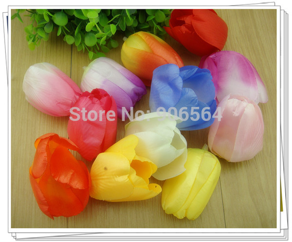 Free shipping 12 colors diy tulip material silk flower heads tulip free shipping 12 colors diy tulip material silk flower heads tulip flower making accessories artifical flower craft 14120320 in artificial dried flowers mightylinksfo