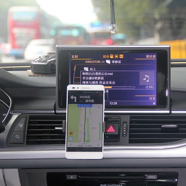 New Free shipping Adjustable Car Air Vent Mount Cradle Holder Stand For iphone Mobile Phone
