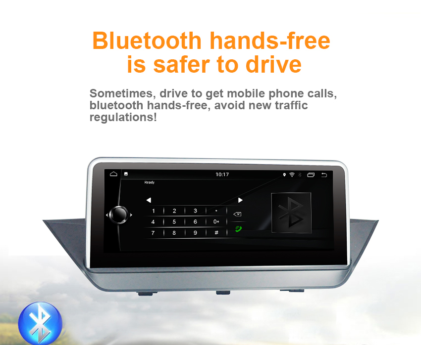 9 Koason Android7.1 2+32G Car Stereo Audio touchscreen Multimedia Player GPS Navigation system for BMW X1 E84 2009-2015 CIC