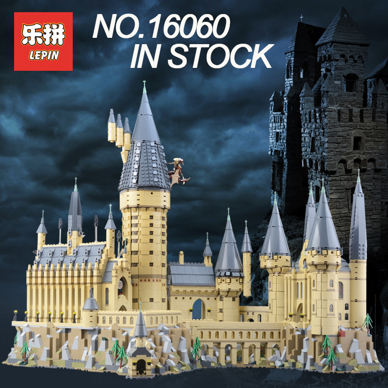 2018 Lepin 16060 Harry Potter Magique Poudlard Château Compatible Legoing 71043 Blocs de Construction Briques Enfants Jouets Éducatifs BRICOLAGE