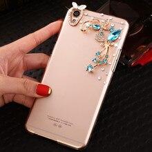 цена на Fashion Golden Love Diamond Rhinestone Case Cover For Sony Xperia XZ Premium XZs X Compact XA C6 XA1 Ultra Dual X Performance L1