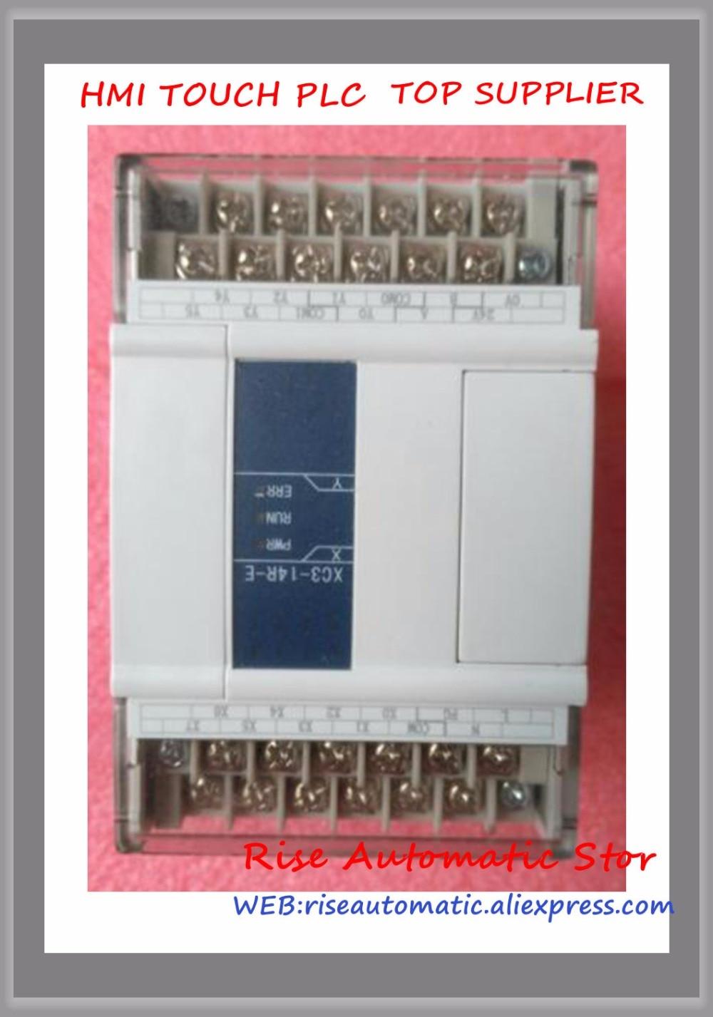New Original Programmable Controller Module XC3-14R-E PLC AC220V DI 8 DO 6 RelayNew Original Programmable Controller Module XC3-14R-E PLC AC220V DI 8 DO 6 Relay