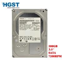 HGST 500GB desktop computer 3.5 internal mechanical hard drive SATA 3Gb 6Gb/s hard drive 16M 500 GB 7200 RPM free shipping