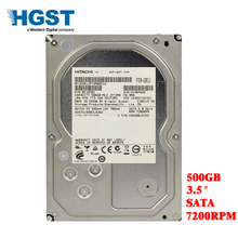 HGST 500 GB настольный компьютер 3,5 «Внутренний механический жесткий диск SATA 3 Gb-6 ГБ/сек. жесткий диск 16 M 500 GB 7200 RPM бесплатная доставка