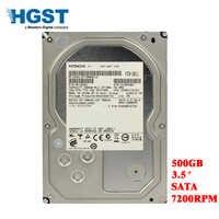 HGST 500 GB desktop del computer 3.5 meccanica interna hard drive SATA 3 Gb-6 Gb/s hard drive 16 M 500 GB 7200 RPM spedizione gratuita