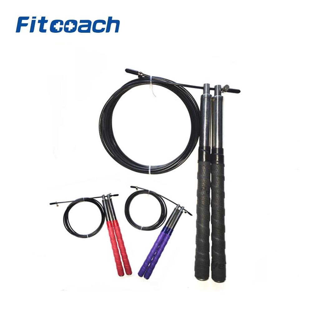 Högkvalitets Jump Rope, Hand Gel Retaining Handle, Professionell - Fitness och bodybuilding