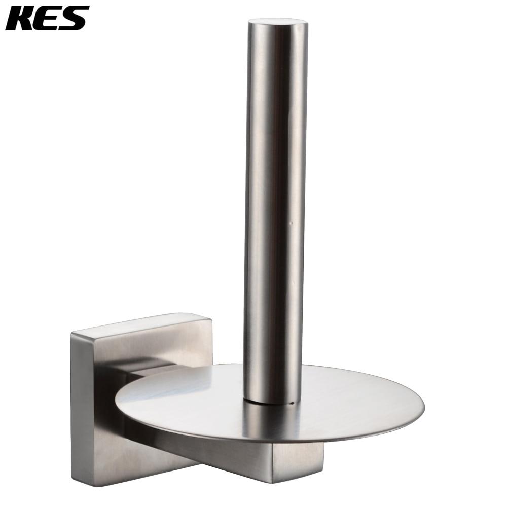 KES A2272 2 SUS304 Stainless Steel Bathroom Lavatory Toilet Paper ...