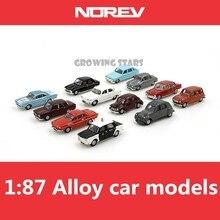 Специальная модель NOREV, 1: 87 сплав norev классические модели автомобилей, металлические литья, дети любят игрушечные транспортные средства