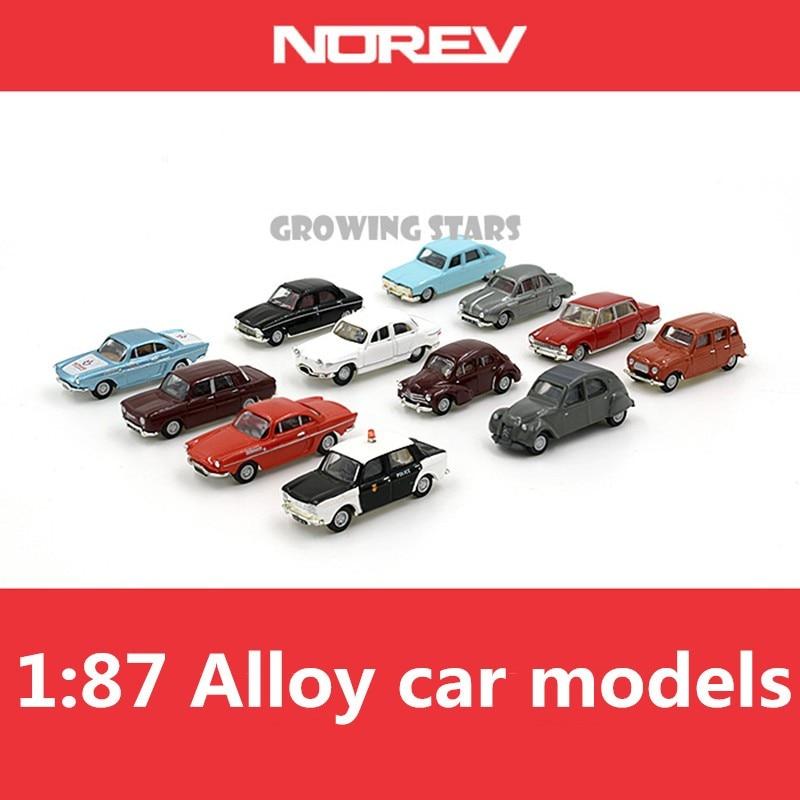 Modèle spécial NOREV, modèles de voiture classiques norev en alliage 1: 87, diecastes en métal, véhicules pour enfants, livraison gratuite