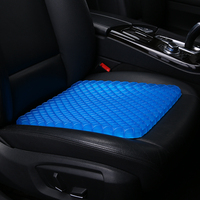 Kkysyelva almofada do assento de refrigeração gel espuma memória grande cóccix ortopédico para ciatica dor nas costas tampas assento de carro