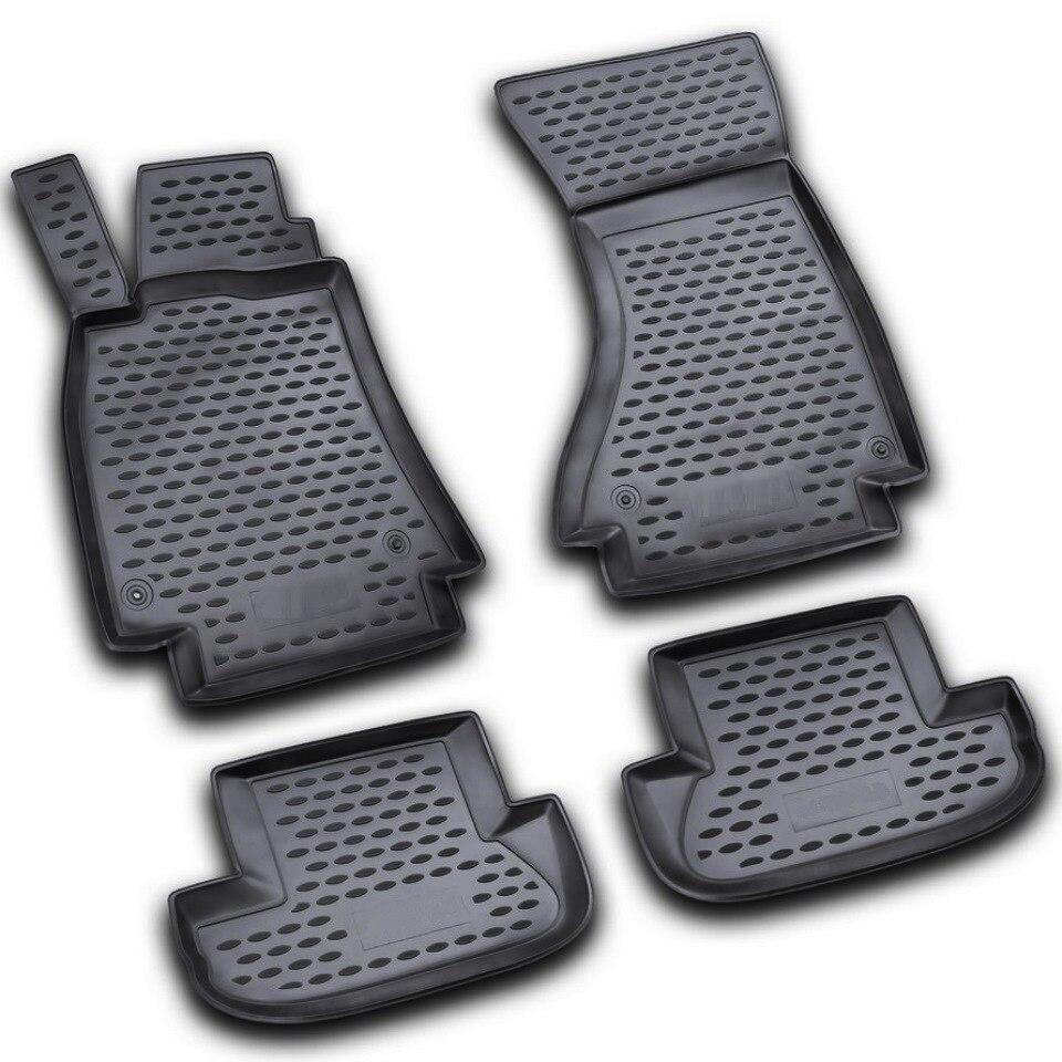 For Audi A5 2007-2015 floor mats into saloon 4 pcs/set Element NLC0411210 цена и фото