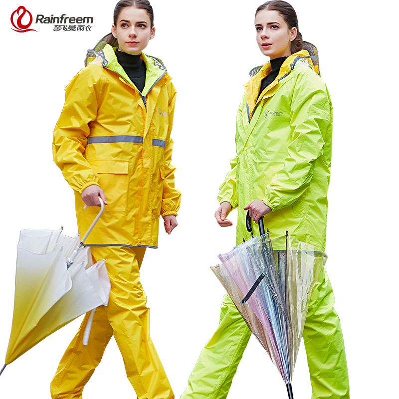 Aliexpress.com : Buy Rainfreem Reversible Impermeable Raincoat ...