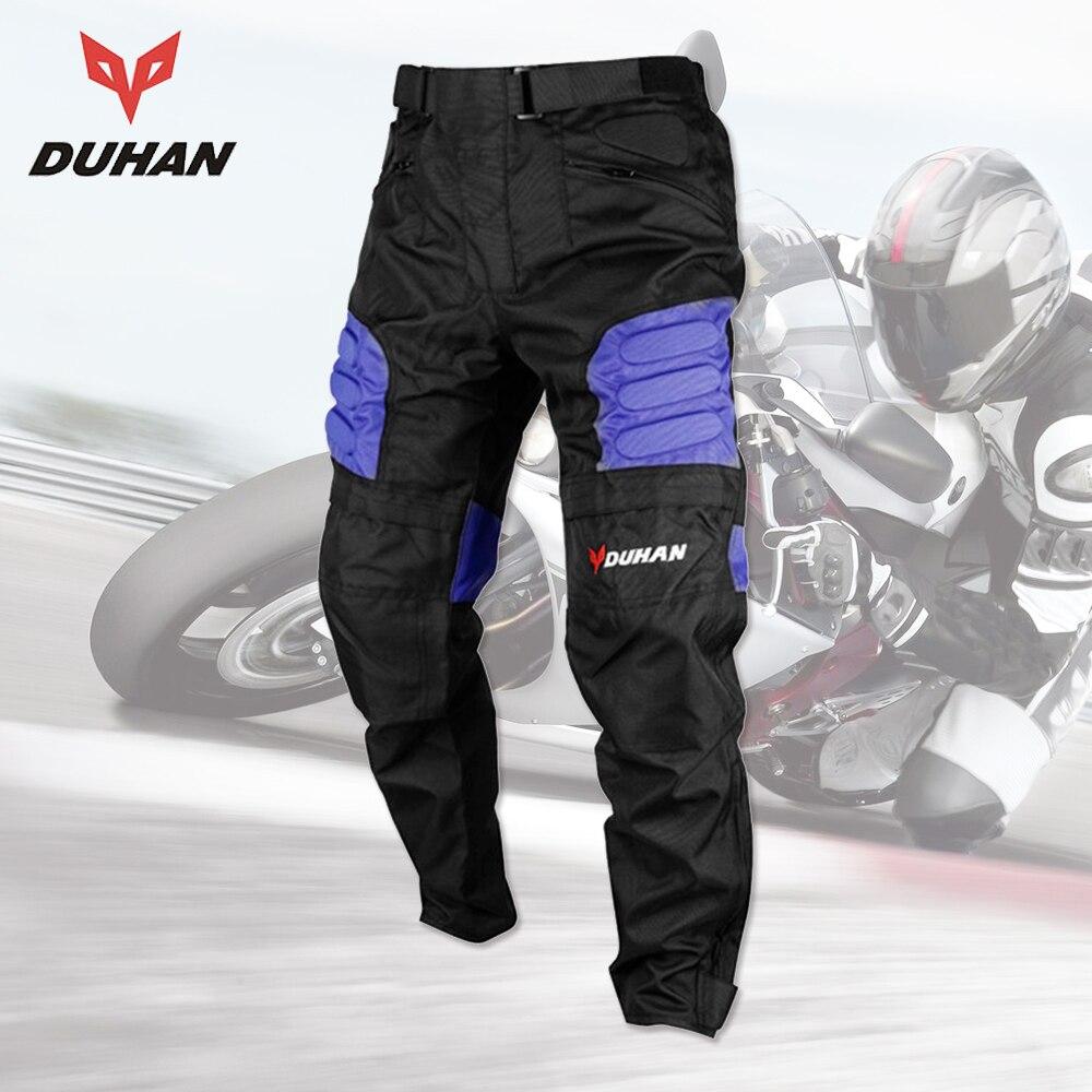 DUHAN 2017 მამაკაცის მოტოციკლეტის შარვალი Oxford Cloth Moto Racing შარვალი Motocross Off-Road შარვალი სპორტული მუხლზე დამცავი