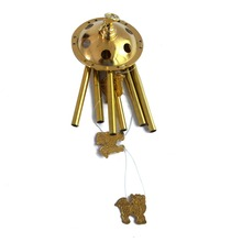 Chi Lin 6 Tube Windchime Chapel Bells Wind Chimes Door Hanging Home Feng Shui
