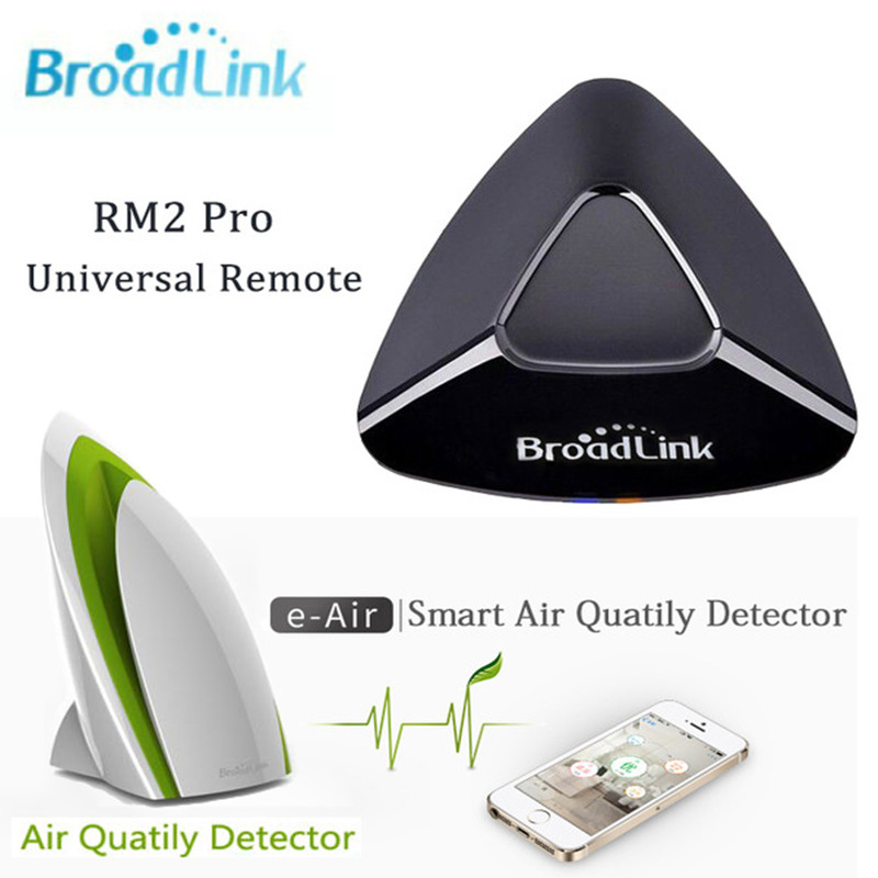 Broadlink RM2 RM pro Universal Remote Contol IR RF +A1 Testing Air Humidity PM2.5 Intelligent Smart Home Automation System free shipping 2017 broadlink rm pro rm03 smart home automation wifi ir rf universal intelligent remote control switch for