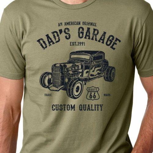 Hot Sale Fashion Dads Garage American Hot Rod Mechanic Classic - Classic car guy