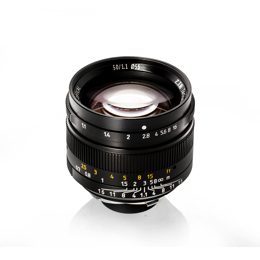 7artisans 50mm F1 1 Full Frame Manual Prime Lens Large