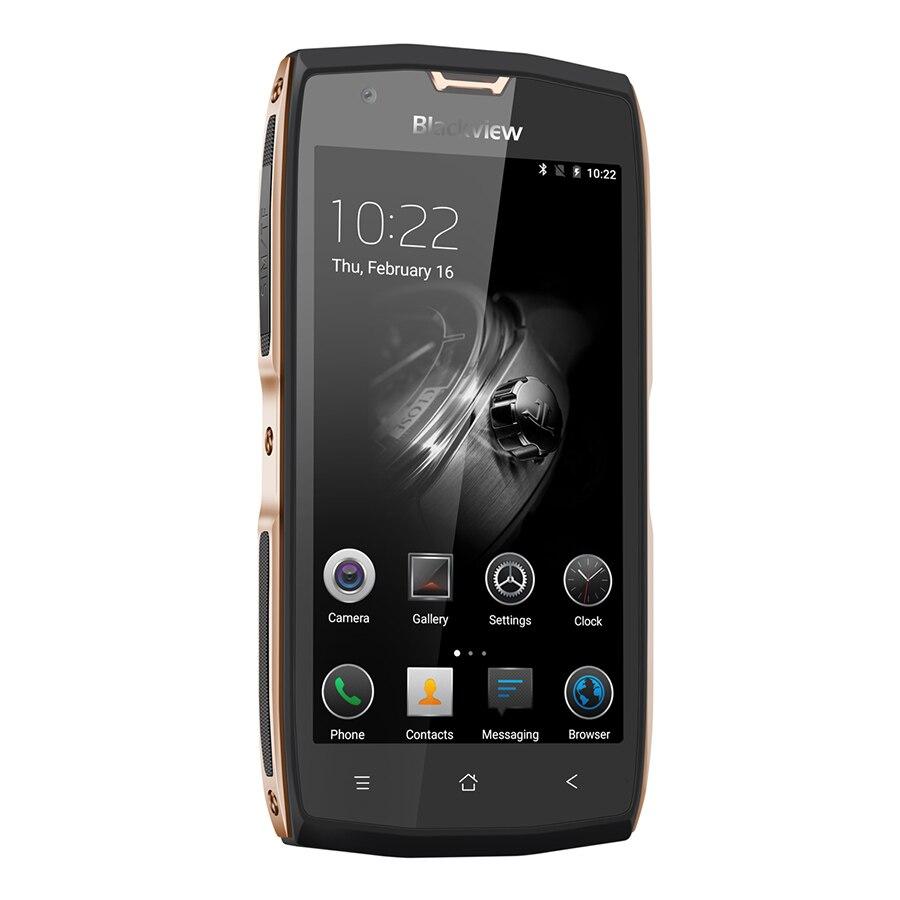 Blackview BV7000 Pro Водонепроницаемый смартфон MT6750T Восьмиядерный 5,0 дюймовый мобильный телефон 4 ГБ ОЗУ 64 Гб ПЗУ 13.0MP Android 6,0