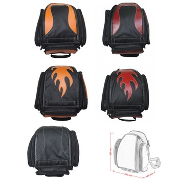 Universal Motorcycle Luggage Bag Tank Tail Helmet Saddle Bags Backpack Chopper Cafe Racer Old School Bobber Touring Dirt bike