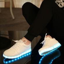 Kriativ зарядное устройство usb освещенные shoes для мальчика & девушки светящиеся кроссовки дети light up shoes led тапочки случайный световой кроссовки