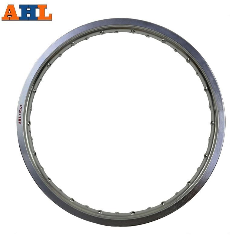 6061 Aviation aluminum 1 85x21 36 Spoke Motorcycle Rims wheel circle Hole 185x21 1 85 21