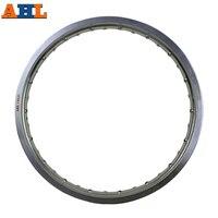 6061 Aviation aluminum 1.85x21 36 Spoke Motorcycle Rims wheel circle Hole 185x21 1.85 21 high strength Black Silver