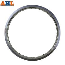 AHL 6061 Aviation Aluminum 1.85x21 36 Spoke Motorcycle Rims wheel circle Hole 185x21 1.85 21 High Strength Black Silver