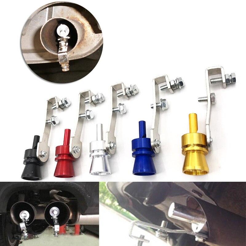 Universal Turbo Sound: Universal Car Turbo Sound Whistle Muffler Exhaust Pipe