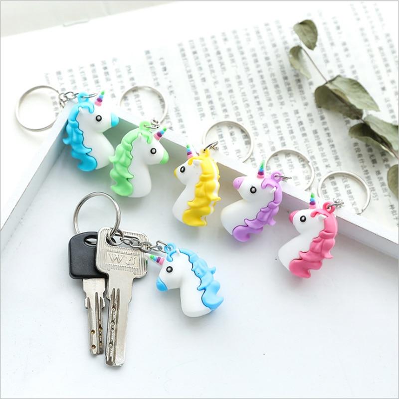 Wedding Gifts For Children: 5pc Unicorn Mini Car Keychain Unicorn Party Favor Birthday