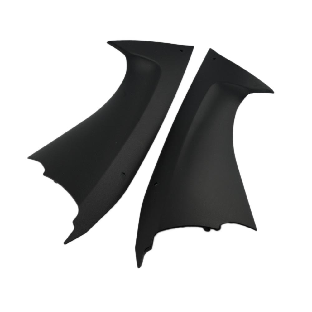 1 Pair Motorcycle Part Two Side Air Dust Cover Fairing Insert For Yamaha YZFR6 YZF R6 2008 2009 2010 2011 2012 2013 2014