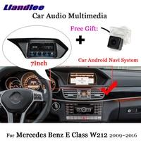 Liandlee автомобиль Android 7,1 для Mercedes Benz E Class W212 S212 2009 ~ 2016 радио Carplay камер ТВ gps Navi карта навигации мультимедиа