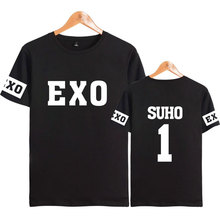 Black EXO T-Shirt [All Members]