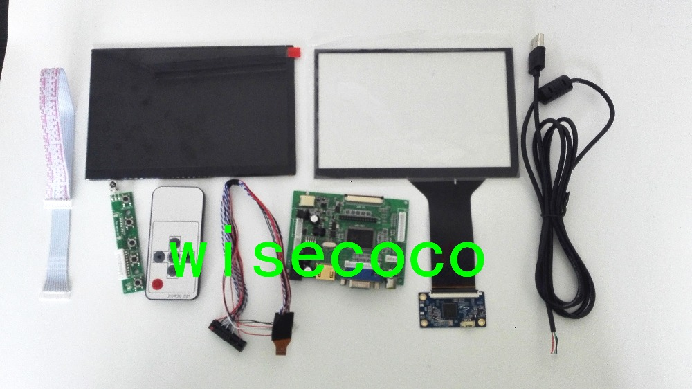 1280*800 7 Inch IPS LCD Screen N070ICG-LD1 With Touch Panel Screen HDMI+VGA+2AV Driver Board Tablet PC LCD