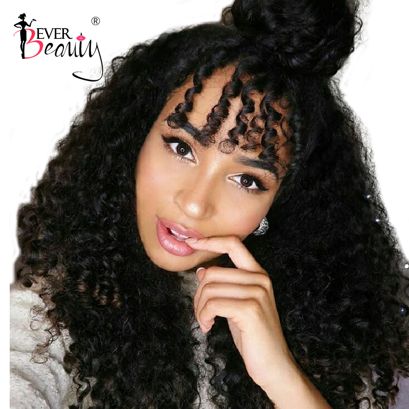 Lace Front Wigs For Women Curly Human Hair Wigs 250 Density Brazilian Glueless Lace Front Wig