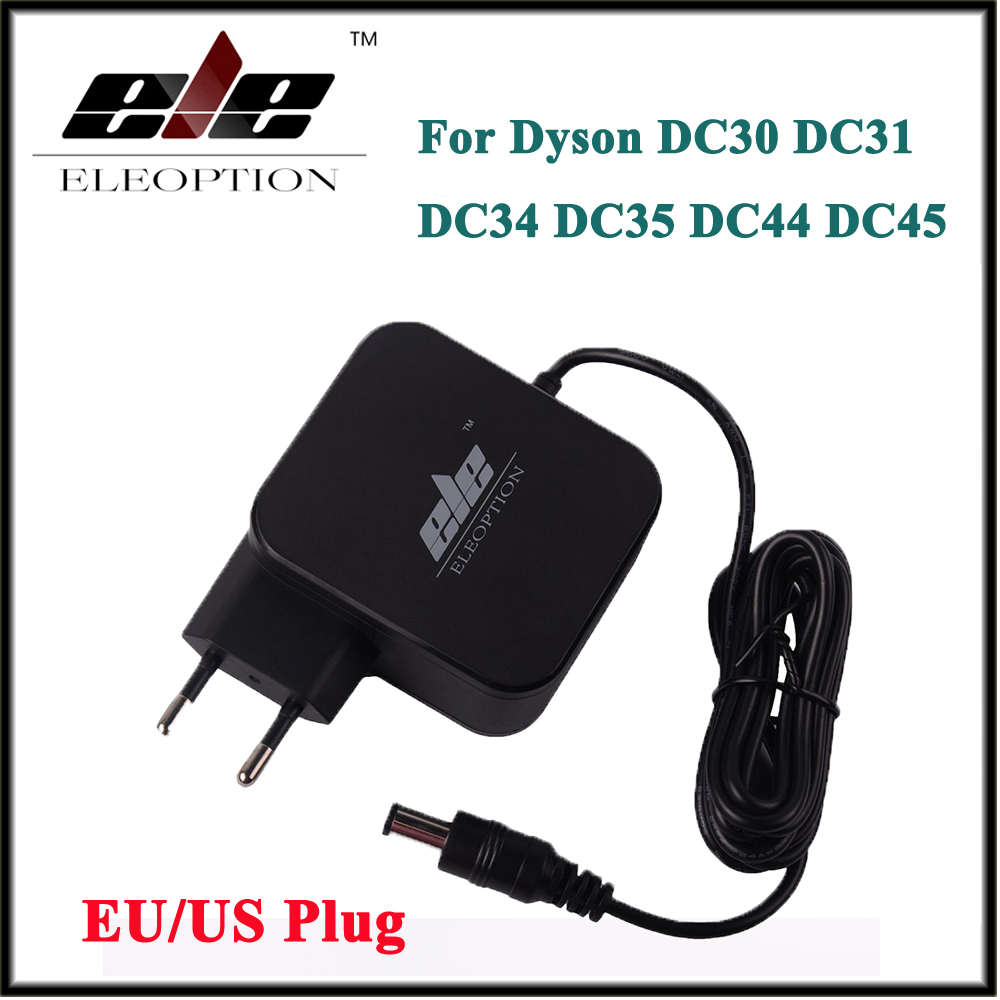New AC Adapter Battery Charger Adapter for Dyson DC30 DC31 DC34 DC35 DC44 DC45 DC56 DC57 24 35V 348mA 16 75V 17530-02 EU US plug