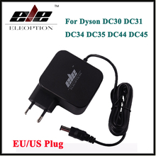 Новый адаптер переменного тока Батарея переходник для зарядного устройства для Dyson DC30 DC31 DC34 DC35 DC44 DC45 DC56 DC57 24,35 В 348mA 16,75 В 17530-02 ЕС/США plug