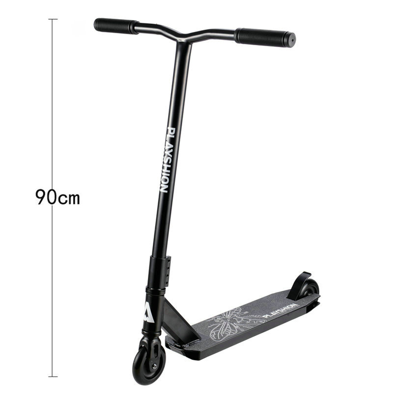 Heighten 90CM Pro Stunt Kick Scooter With 100MM PU Wheel, Lightweight Freestyle Extreme Scooter