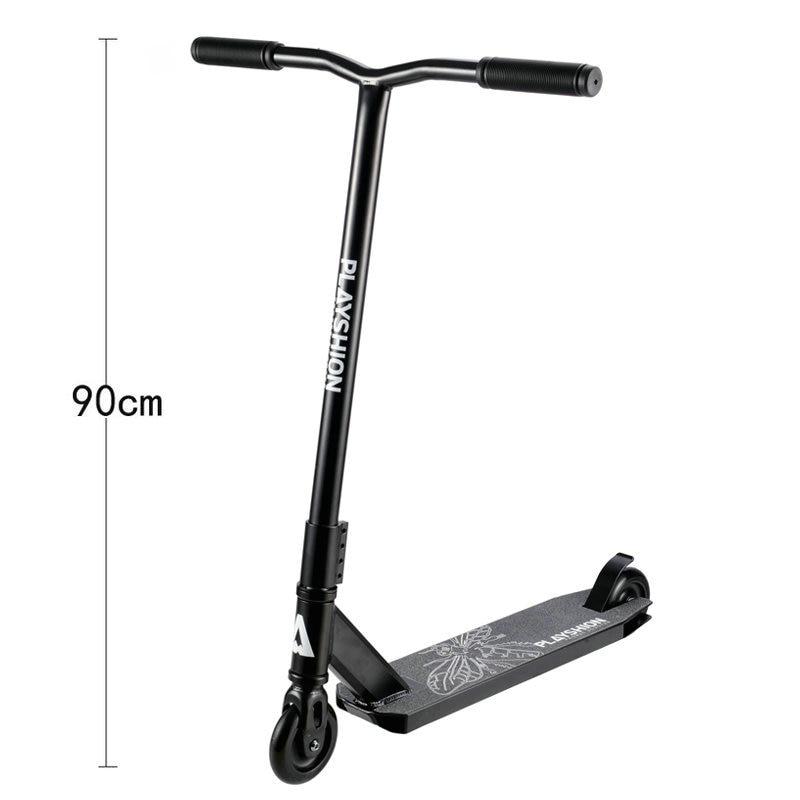 Rehaussez le Scooter de coup de pied de Pro de 90 CM avec le roue en polyuréthane de 100 MM, Scooter extrême léger de Freestyle