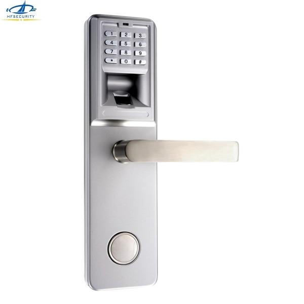 HFSECURITY Door Handles Biometric Fingerprint Lock Wireless Digital ...